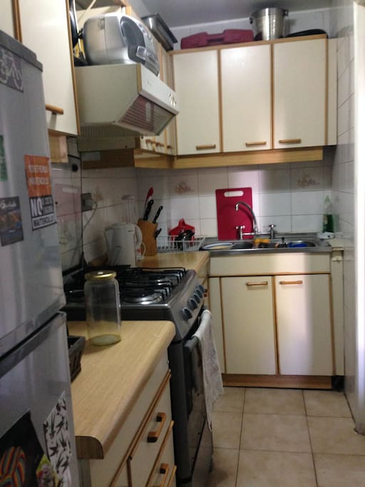 Cocina full equipada