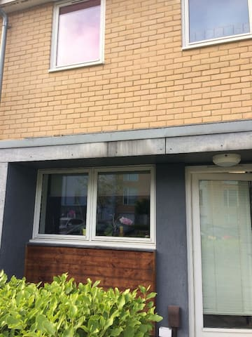 2 bed house with a lovely peaceful relaxing feel.