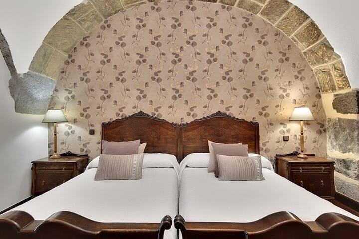 Un caserío del siglo XVIII convertido en hotel.