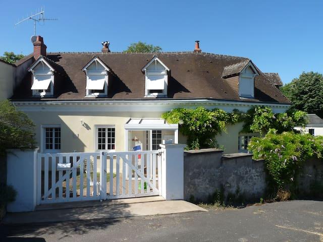 Maison familiale 4ch 5km d'Amboise 19km de Tours - Lussault-sur-Loire