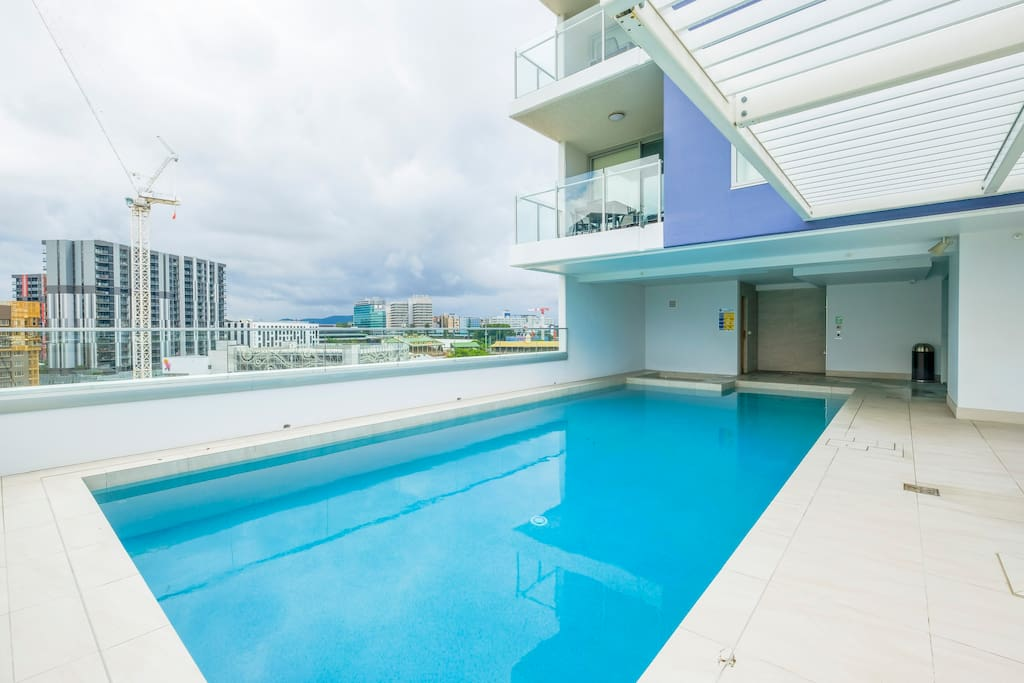 Pool and Spa on Level 7 with View