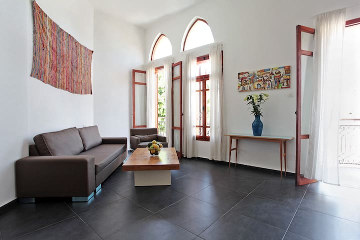 A spacious 1BR in old jaffa on 30 Olei  Zion st. - Tel Aviv-Yafo - Appartement