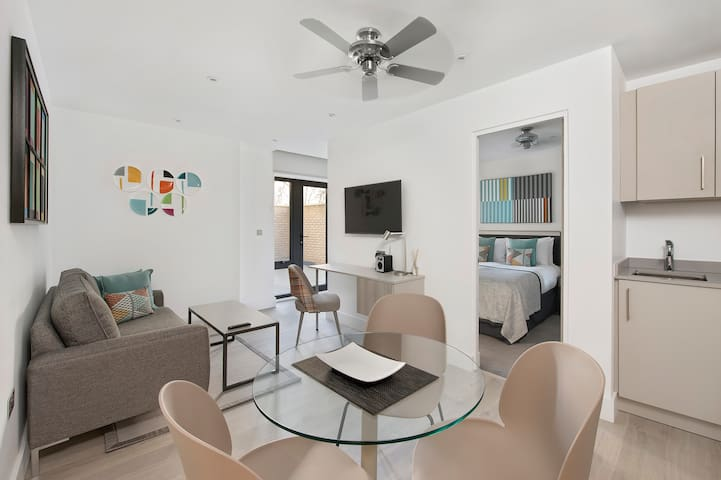 Executive 1 Bedroom Suite with Terrace at Q Square