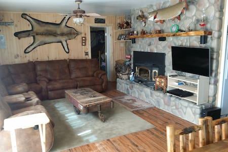 Lakefront Rustic Getaway Home - Allegan