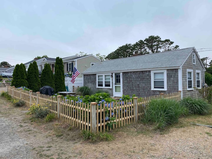Cape Cod Cottage steps away from private beach