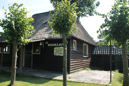 Vakantiehuis aan het water - Giethoorn - Blockhütte