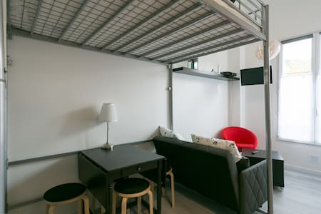 Sunny Peaceful Whole Flat w Parking - Meudon - Lejlighed