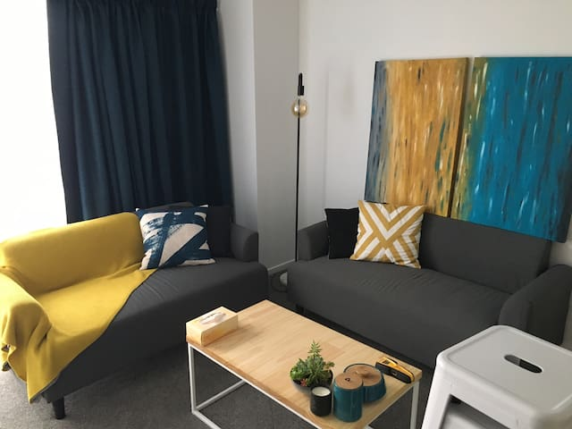 Cozy, quiet apartment near city center
