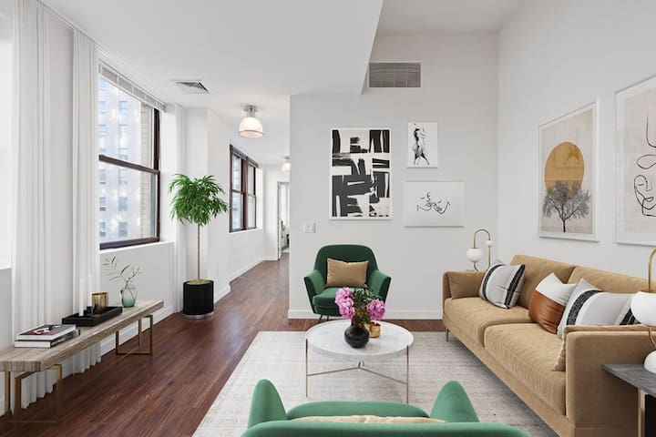 Entire apartment for you   2BR in Jersey City