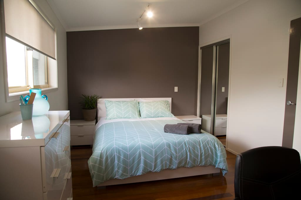 Both bedrooms have Wi-Fi nooks