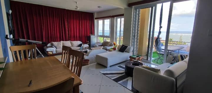 NyaliLux 2bdrm penthouse wth pool gym& oceanview