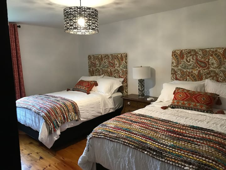 Double room at The Hacienda Bed and Breakfast