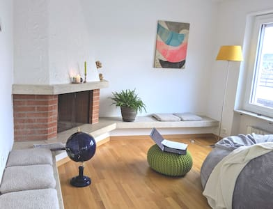 Private room in a penthouse close to Zürich for 2