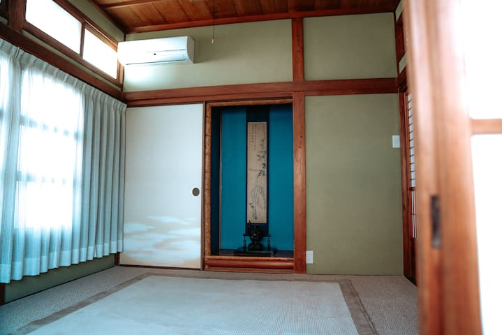 3 Japanese-style rooms in 1st floor.