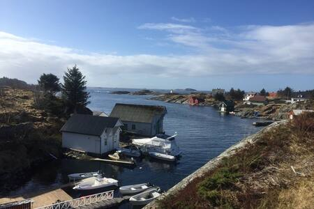 Big house by the sea with private quay/boat - Øygarden kommune - 独立屋