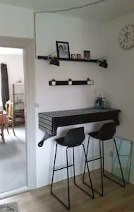 Lejlighed med 3 sovepladser .Midt i Aalestrup .