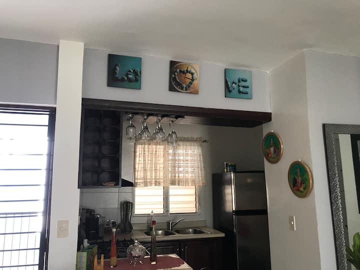 Apartamento cómodo, privado y seguro