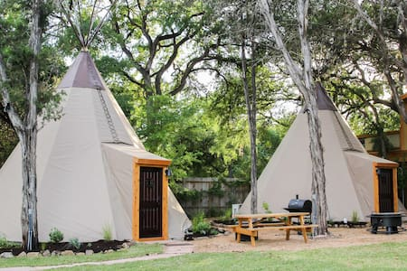 Reservation on the Guadalupe- Tipi #1 Sweet Grass - New Braunfels