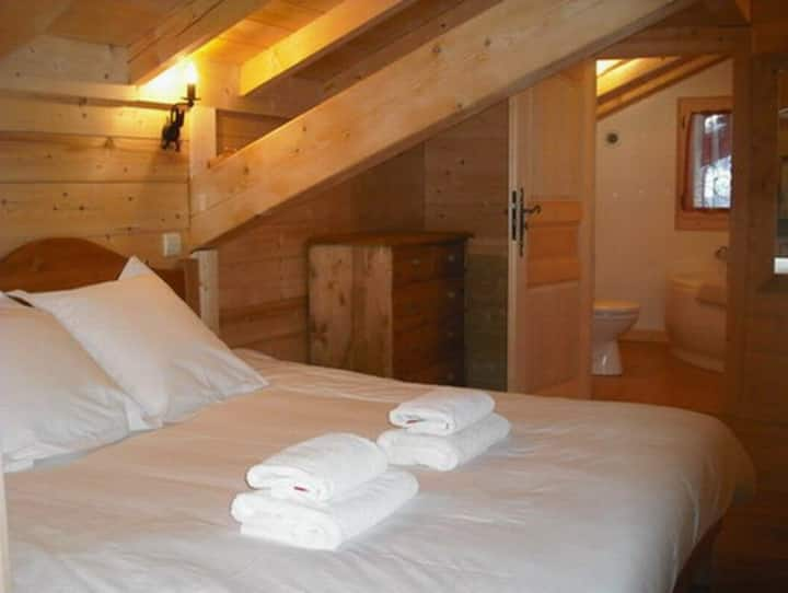 Bed and Breakfast in Morzine: Family suite