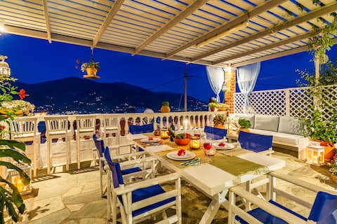 BLUE HEAVEN VILLA , SKOPELOS CHORA GREECE