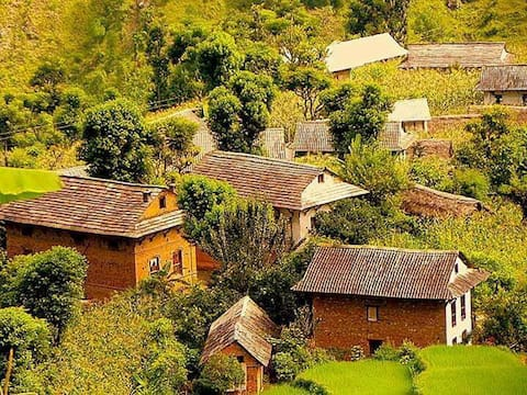 In the Hills of Nepal.