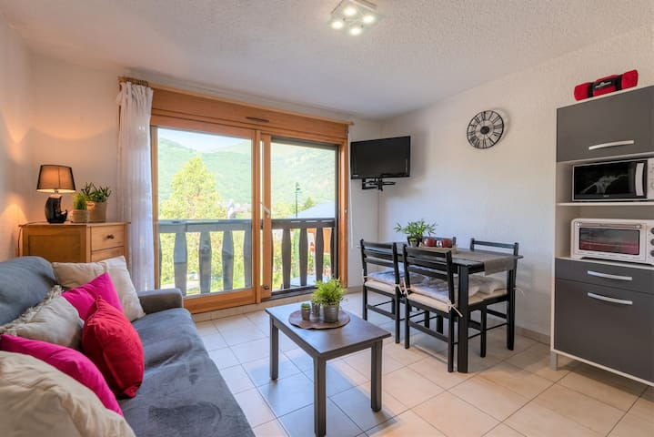 LOCATION APPARTEMENT SAINT LARY SOULAN/ STUDIO CABINE / 4 PERS / PROCHE CENTRE