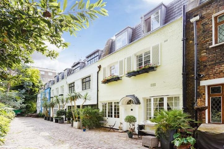 Exclusive Hyde Park Mews House - London - Hus