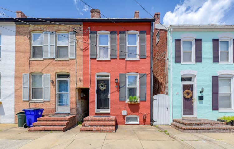 Live like a local, steps from downtown Frederick!