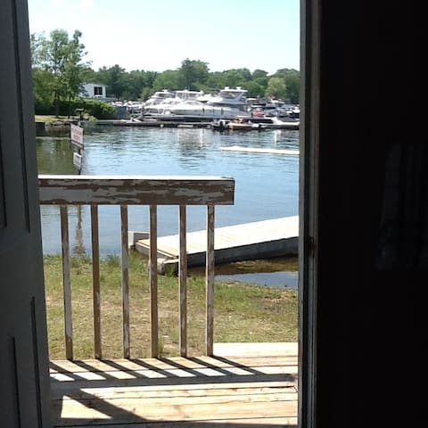 Your view from your private deck