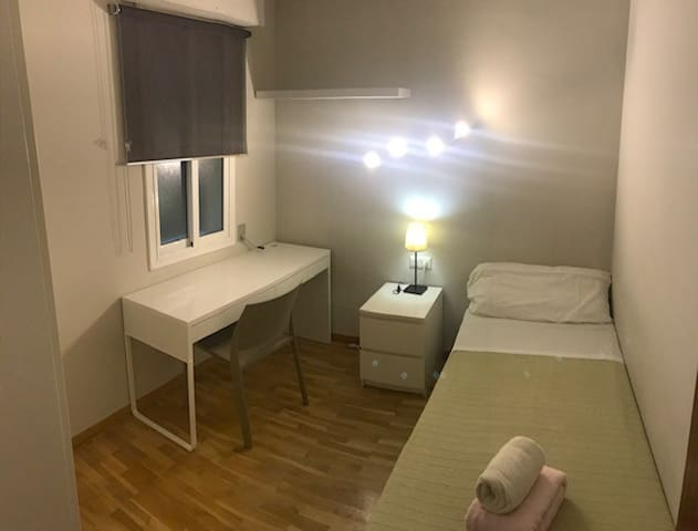 Private bedroom 1pax Quiet apartment 3bedrooms