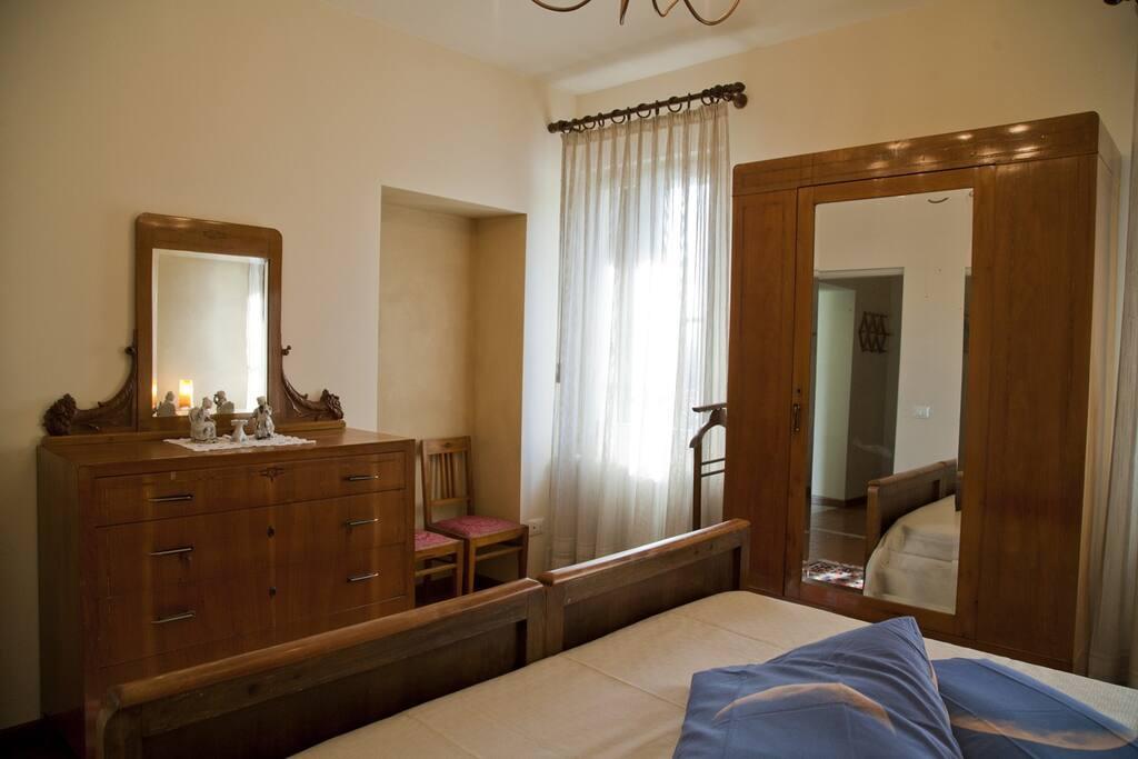 La prima camera da letto