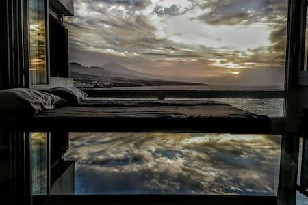 Estudio en edificio Altagay, Punta del Hidalgo