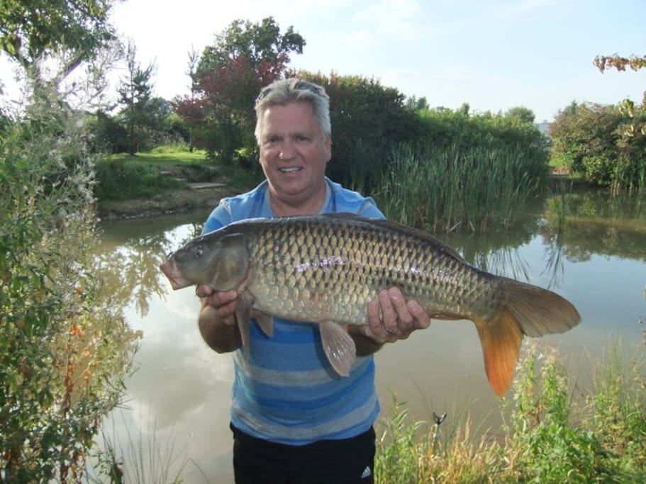 Day fishing tickets available for the coarse fishing lake