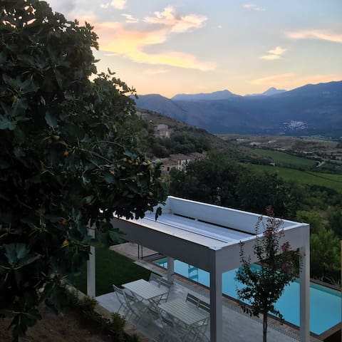Fisolare B&B-Stanza del Cuore-Breath-taking view