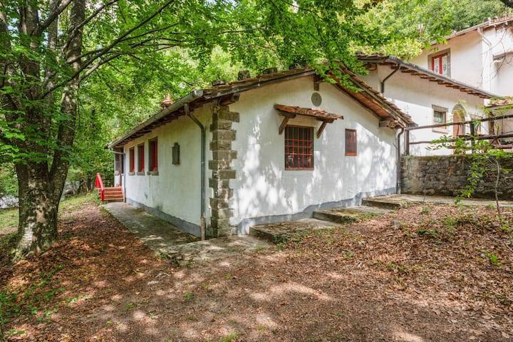 Casa de vacaciones vintage con piscina en Migliorini