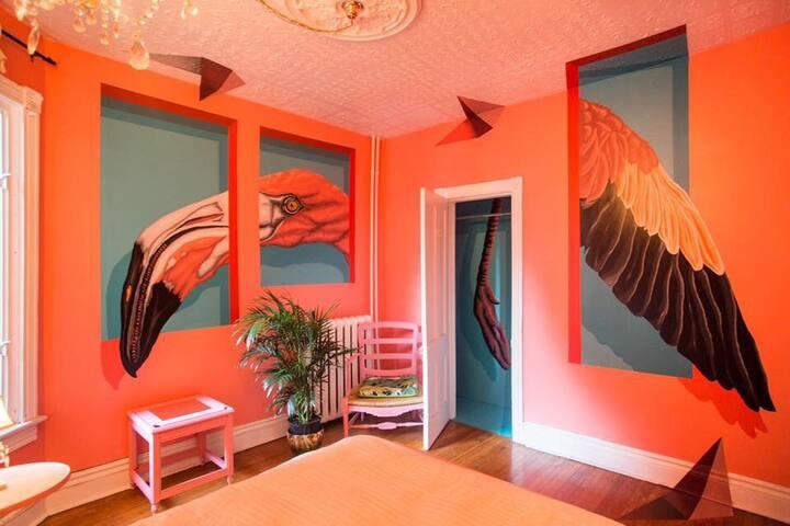 Darling Mansion: The Flamingo Room