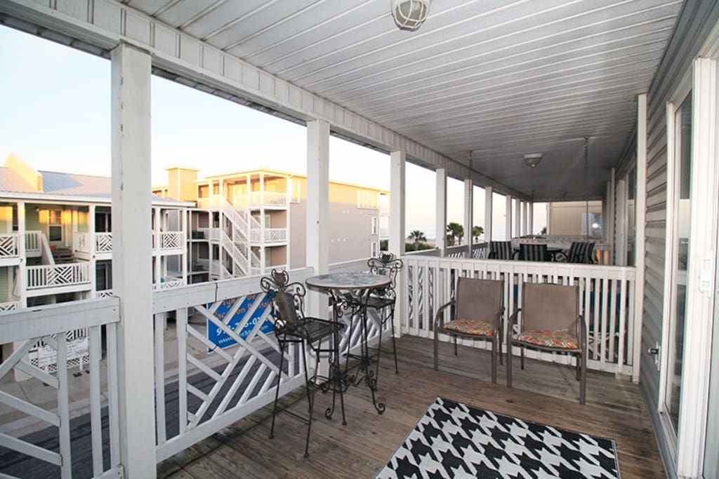 Enjoy the great ocean view from your private balcony and you are only steps from the beach