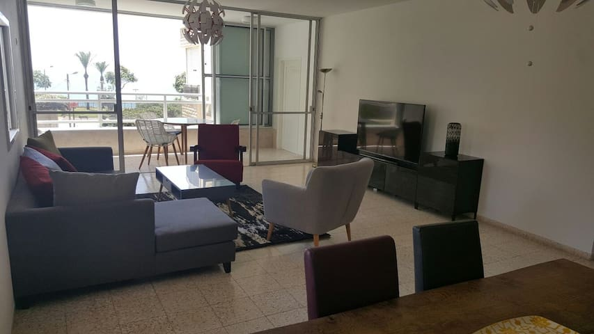 Beautiful appartment with Sea view - Netanya - Apartemen