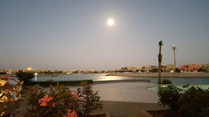 Breathtaking view ground apartment Sabina ElGouna