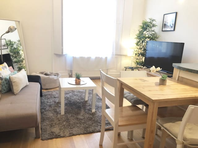 comfortable & bright apartment, Central London N1