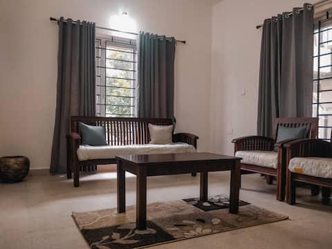Green Dale Villa/Fully furnished/2000 sq ft/Kochi