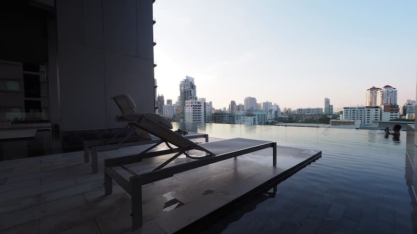 SuperLuxury1BR@BTS Thonglor 1step!The best in town - Bangkok - Apartament