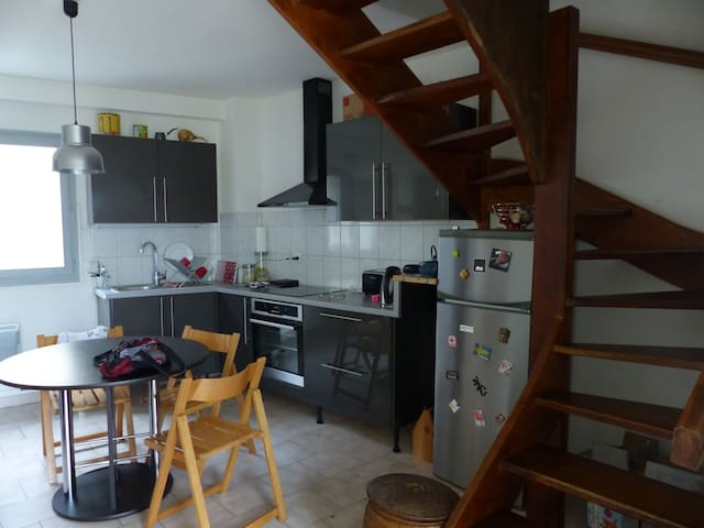 Duplex avec terrasse en intramuros - Avignon - Apartamento