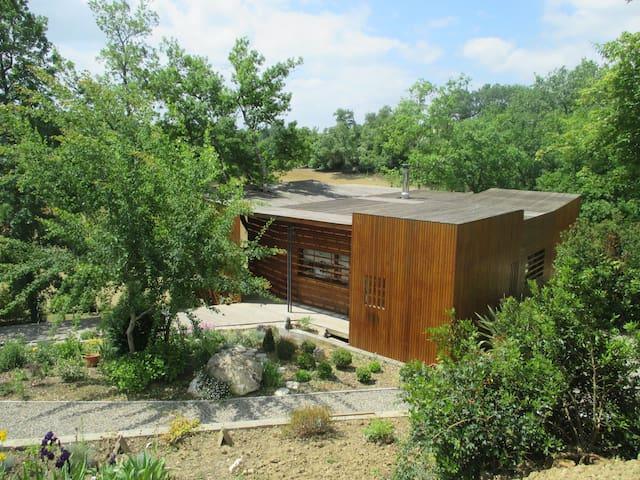 Maison atypique en pleine nature - Rozes - Huis