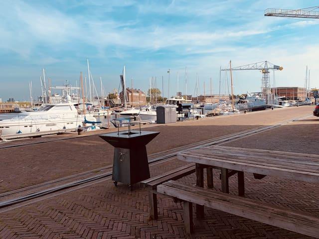 Genieten op Willemsoord, TOP locatie in DenHelder