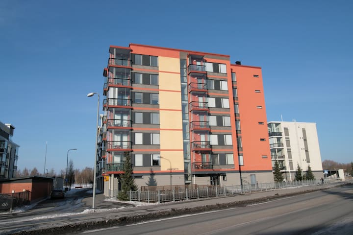 Forenom Two-bedroom apartment (with Sauna and Balcony) in Pori