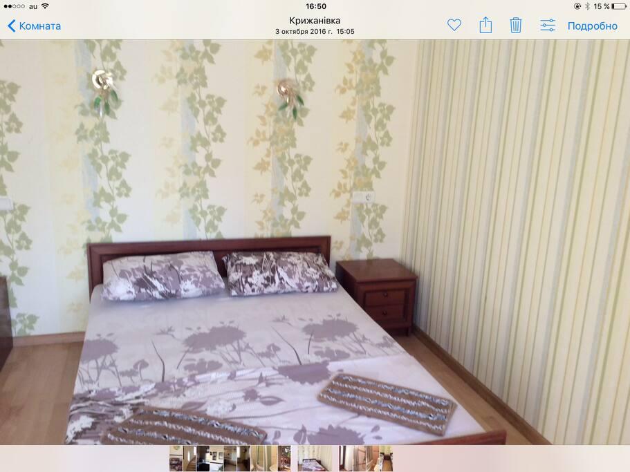 Номер  с двухспальный кроватью