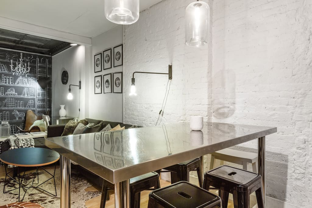 Large stylish 2 bedroom loft manhattan nomad apartments for rent in - Location loft new york manhattan ...