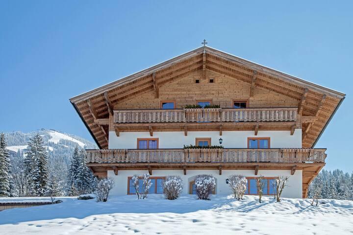 Geräumiges Appartement nahe des Skigebietes in Westendorf
