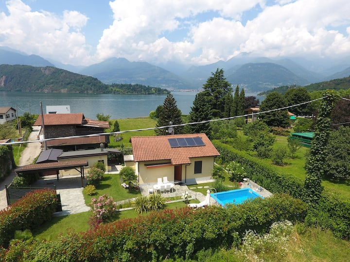 Casa Favorita, Haus am See mit Pool